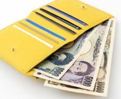 主婦の財布の中身