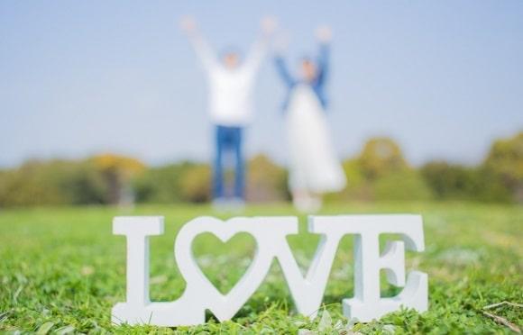 成婚したカップル
