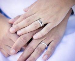 結婚を決めたカップル